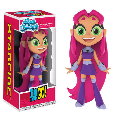 Figura Rock Candy DC de Starfire de Teen Titan Go!