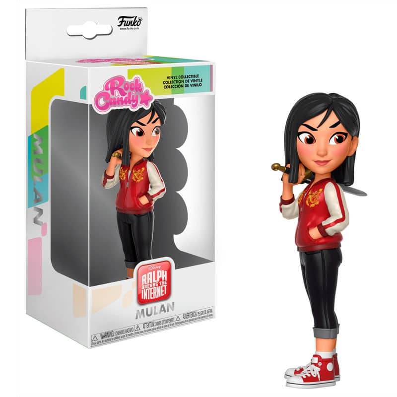 Figura Rock Candy de la Princesa Mulan en versión comfy