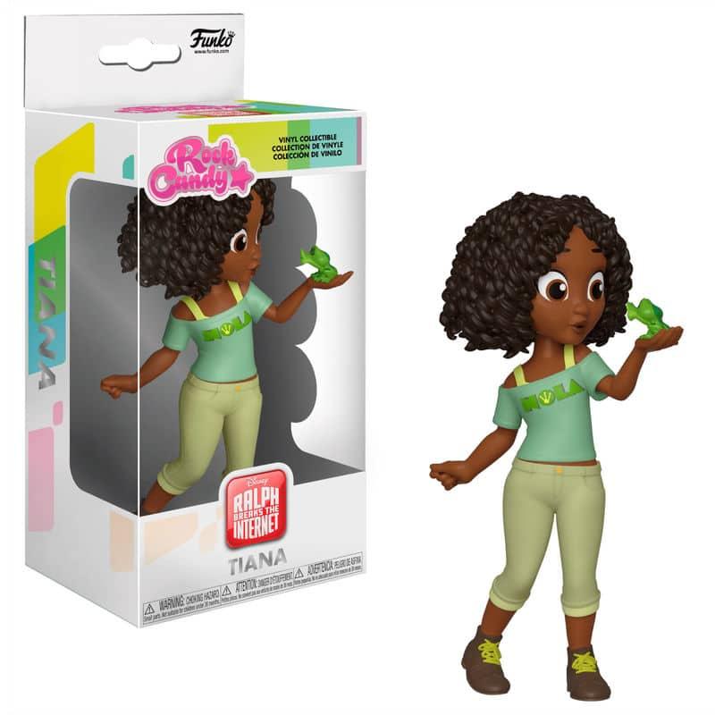 Figura Rock Candy de la Princesa Tiana en versión comfy
