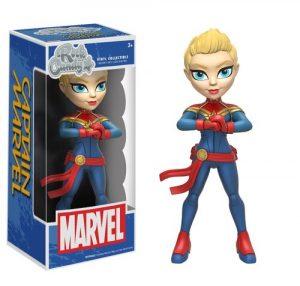 Figura Rock Candy de la Capitana Marvel