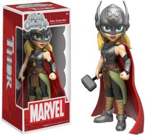 Figura Rock Candy Marvel de Thor mujer