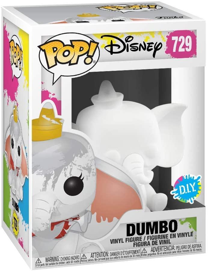 Funko Pop de Dumbo en blanco